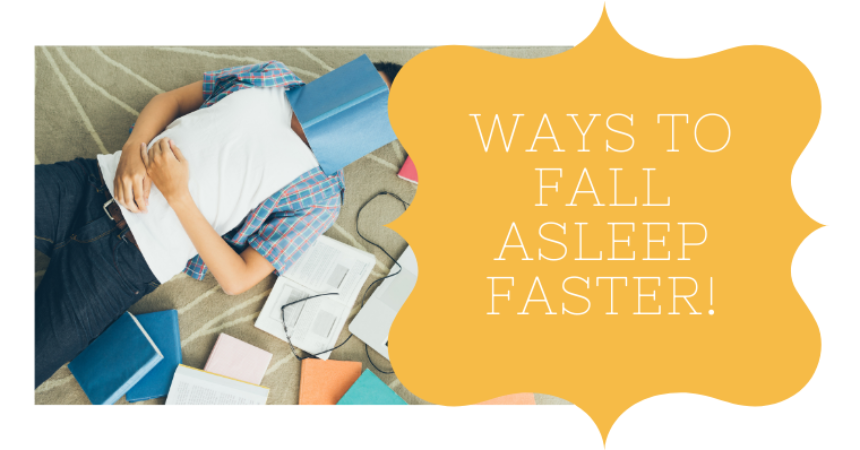 5 Ways To Fall Asleep Faster!