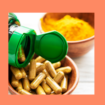 Turmeric supplements for acne