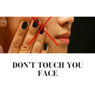 Don't touch you face